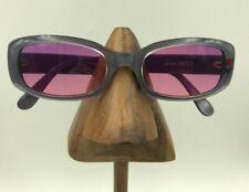 Vintage Jill Stuart JS-8-4 Violet Purple Oval Sunglasses Eyeglasses Hong Kong