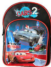Disney Cars 2 Finn McMissile e Saetta McQueen Con licenza Zaino Da Scuola