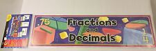 NEW Fractions & Decimals Mini Bulletin Board Set Creative Teaching Press CTP4699