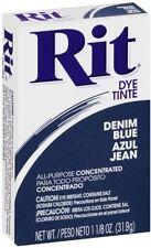 Rit All-Purpose Powder Dye, Denim Blue 1.13 oz (Pack of 3)