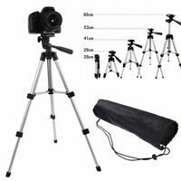 Professional Travel Tripod Video Tilt Pan Head for Digital Camera Camcorder+Bag
