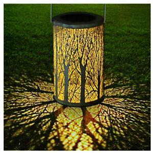 Solar Powered Garden LED Lamp for Outside Tree Design Led Lantern for Yard Path
