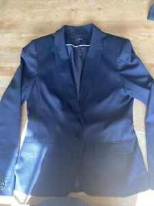Next Navy Suit Ladies Smart Work Wear Jacket And Trousers