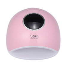 72W Led Uv Nails Lamp Nail Gel Dryer Curing Machine Nails Art Painting Pink W0O1