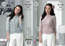 DK/Double Knit Sweaters Patterns