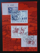 horse plate number stamps Slania Wipa 1981 Wien maximum card Denmark 1783