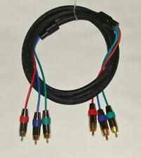 TTL RGB RCA Component Video High End Gold Contacts Video Cable - 6f