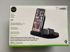 Belkin - Boost Up Wireless Charging Dock iPhone and Apple Watch-Factory Package