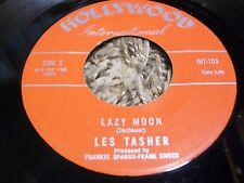 "Teen Rockabilly 45 Les Tasher Lynn Perry ""Lazy Moon"" Hollywood International!"