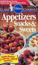 Pillsbury APPETIZERS SNACKS & SWEETS Classic Cookbook #119 Includes 12 Low-Cal