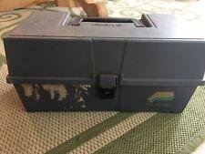 Plano Spinner Tackle Box Full Of Mepps Spinner 58 Total
