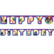 Trolls Happy Birthday Jointed Party Banner 6ft!
