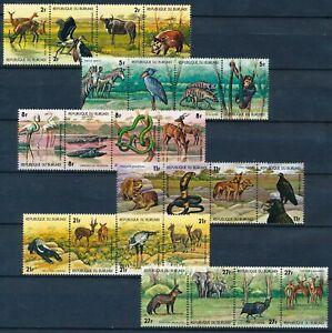 [P15897] Burundi 1977 : Fauna - Good Set Very Fine MNH Stamps - $95