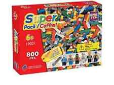 Brictek Bric Tek Super Pack building kit same size as Lego NEW 19001 800 pcs!
