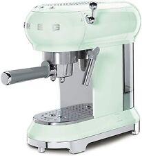Smeg ECF01PGEU 50's Retro Style, Espresso-Kaffeemaschine, Siebträger, Pastelgrün