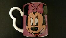 Disney 3D Minnie Mouse Pink Ceramic Coffee Mug with Mouse Ear Handle