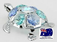 CRYSTOCRAFT Turtle with SWAROVSKI crystals