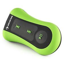 AUNA MINI SPORT MP3-PLAYER WASSERDICHT CLIP-ON IN-EAR-KOPFHÖRER 8 GB GRÜN