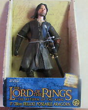 """Lord of the Rings - The Return of the King -  ARAGORN 11"""" Deluxe Action Figure"""