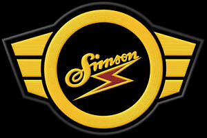 SIMSON logo XL  iron-on Aufnäher patch