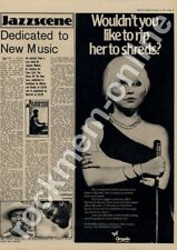 Blondie Rip Her To Shreds Coventry Locarno '45 Tour Advert 1977