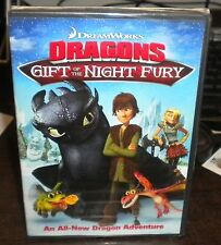 New Sealed Dragons: Gift of the Night Fury (DVD, 2012)b