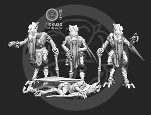 Bug Warrior Commander (1) -  Star Wars Legion Scale/Roleplay resin miniatures