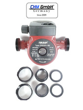 CHM GmbH® Umwälzpumpe 25-40/180 Heizungspumpe Zirkulationspumpe Effizienzpumpe