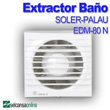 Extractor de baño EDM 80 N SOLER Y PALAU