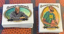 2020 Goodwin Champions - FULL Base Set #1-100 Lebron James - Michael Jordan - RC