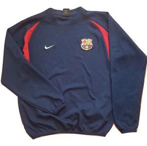 Nike F.C.B. Barcelona Boy's Jersey Long Sleeve Size US 14-16 EU 152-158 L