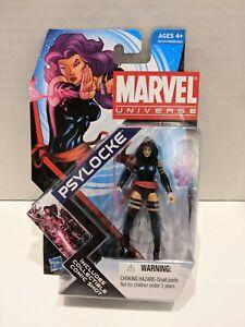 "PSYLOCKE Marvel Universe 4"" inch Action Figure #5 Series 4 Hasbro 2011NEW (m)"