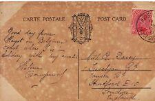 Family History Postcard - Davey - Janson Road - Stratford - London - Ref 1635A