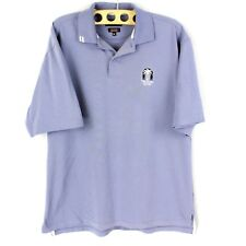 Ashworth Ez-Tech Polo Men's M Moisture Wicking The Palms Golf Club Short Sleeve