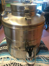 Military Super Chef MIL - 3 Stainless Insulated Coffee Beverage Water Dispenser