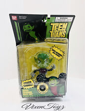 "NEW TEEN TITANS  SUPER DEFORMED  BEAST BOY  5"" FIGURE W/SOUND NIB DMGPKG"