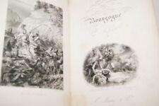 LES DUCS DE BOURGOGNE VALENTIN 1842 GRAVURES RELIURE