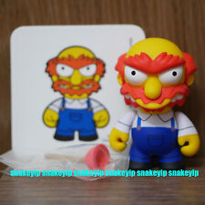 "Kidrobot The Simpsons series 2 Groundskeeper Willie 2/20 3"" Vinyl Figure"