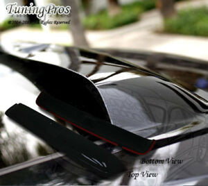 Rain Guard Sunroof Moon Roof Visor 880mm Type2 Dark Smoke For 2002-2008 Saab 9-3