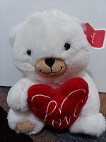 """Hallmark"" Plush Love Teddy Bear Super Soft Plush - New"