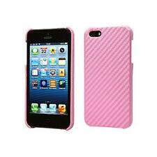 Groov-e GVIPHONE5CF iPhone 5 Carbon Fibre Mobile Phone Protective Case Pink New