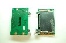 NIKON D70 D70S CF Compact Flash MEMORY CARD RECEPTACLE TRAY UNIT