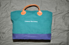 LEHMAN BROTHERS (B/G) ~  2 TOTE BAGS ~ 2 for 1 Sale!  ~ LIMITED TIME!