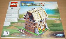 Lego Ritter Bauplan für 7189 (Teil 2), only instruction