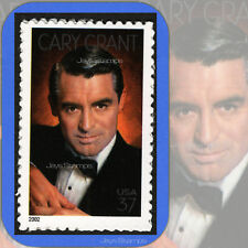 2002  CARY GRANT  8th Legends of Hollywood MINT Single 37¢ Stamp Cat # 3692