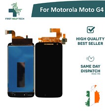 For Motorola Moto G4 LCD Display Touch Screen Digitizer Assembly Black New