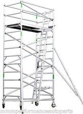Aluminium Scaffold 6.5m Reach Mobile Scaffolding Tower 450kg, Australian Design