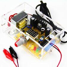 Lm317 125v 12v Adjustable Regulated Voltage Power Supply Us Plug Diy Kits