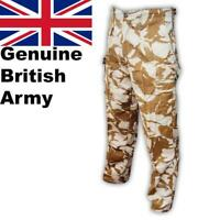 Genuine British Army Combat Sand Camo Desert Trouser Military Issue New