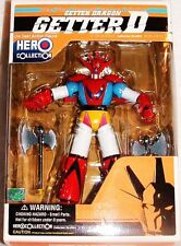 "GETTER ROBO G DRAGUN ROBOT 6"" DIECAST wACSSRS HERO COLLECTN SHOGUN LASTONE!  MIB"